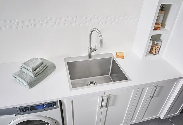 How to Choose the Perfect Laundry Room Sink - Blanco Drop-in Sink