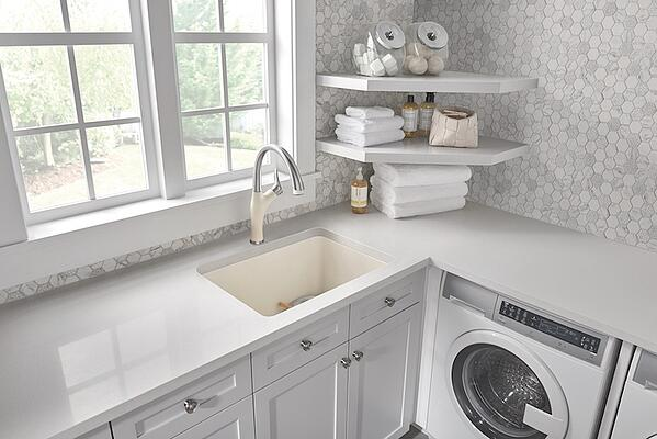 How to Choose the Perfect Laundry Room Sink - Blanco Undermount Laundry Sink