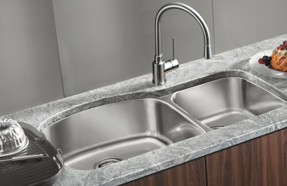 Blanco Double Sink