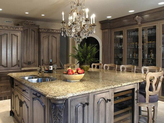 8 Different Types of Kitchen Cabinets You'll Love - Distressed Kitchen Cabinets