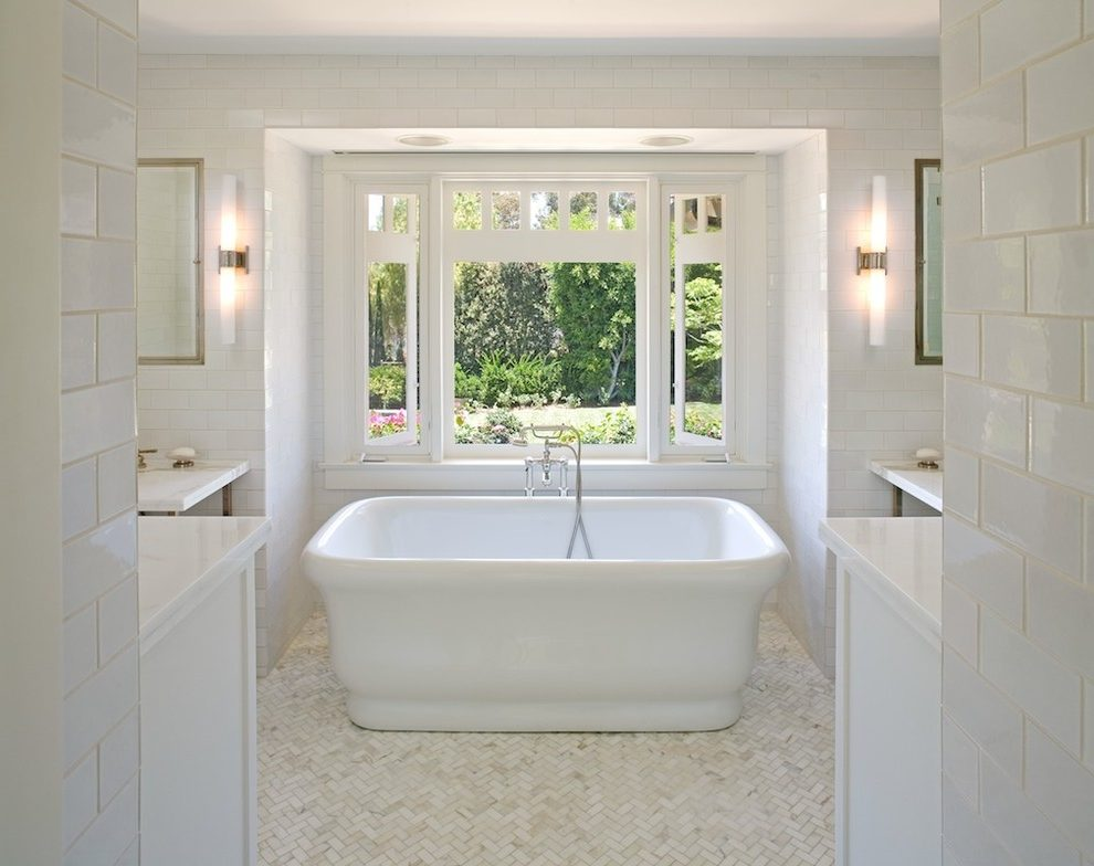 Treat Yourself to a Luxurious New Master Bathroom - Freestanding Tub