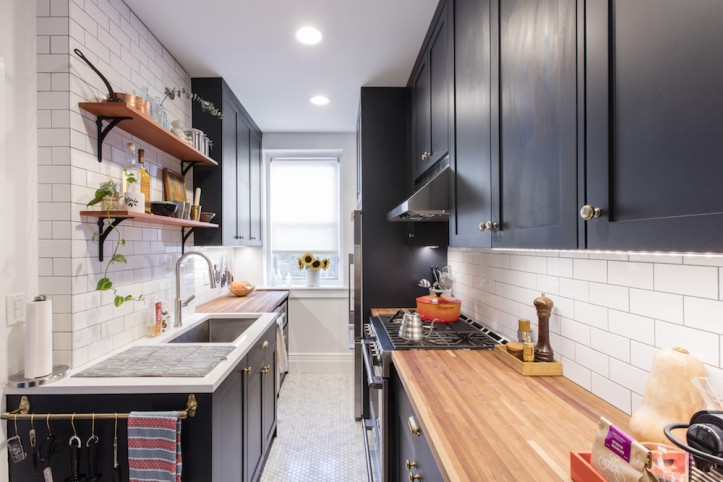 7 of the Most Popular Kitchen Layout Options for Your Home - Galley Kitchen
