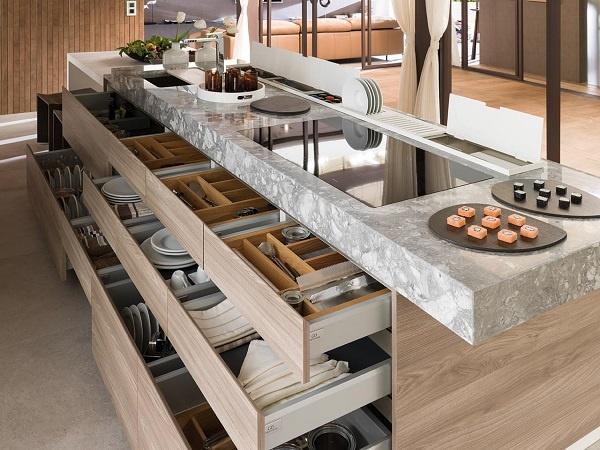 8 of Our Favourite Kitchen Island Design Ideas - Kitchen Island Storage