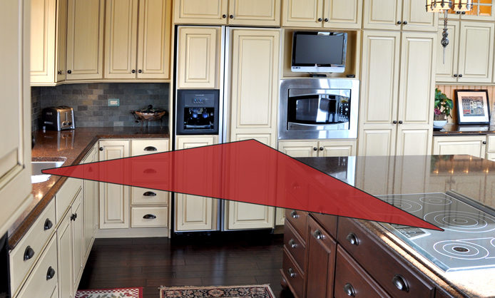 7 of the Most Popular Kitchen Layout Options for Your Home - Kitchen Work Triangle