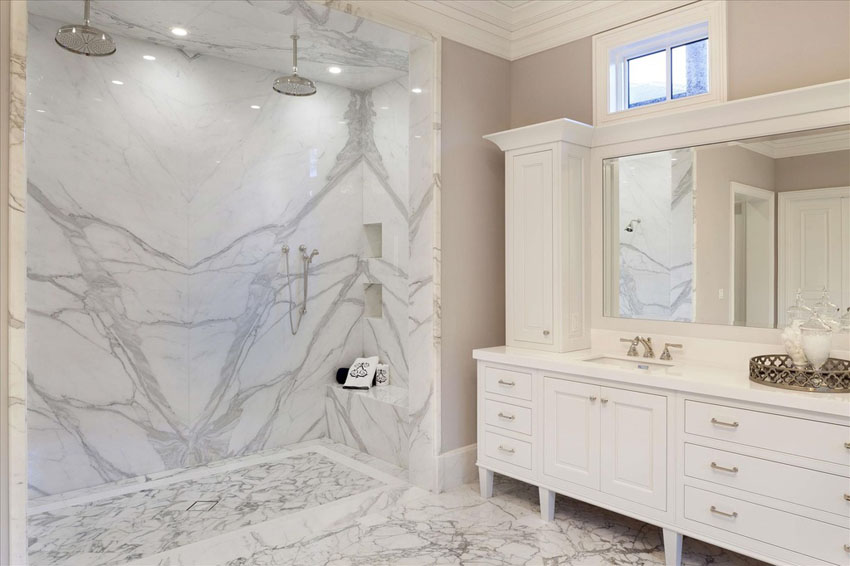 Treat Yourself to a Luxurious New Master Bathroom - Luxury Shower