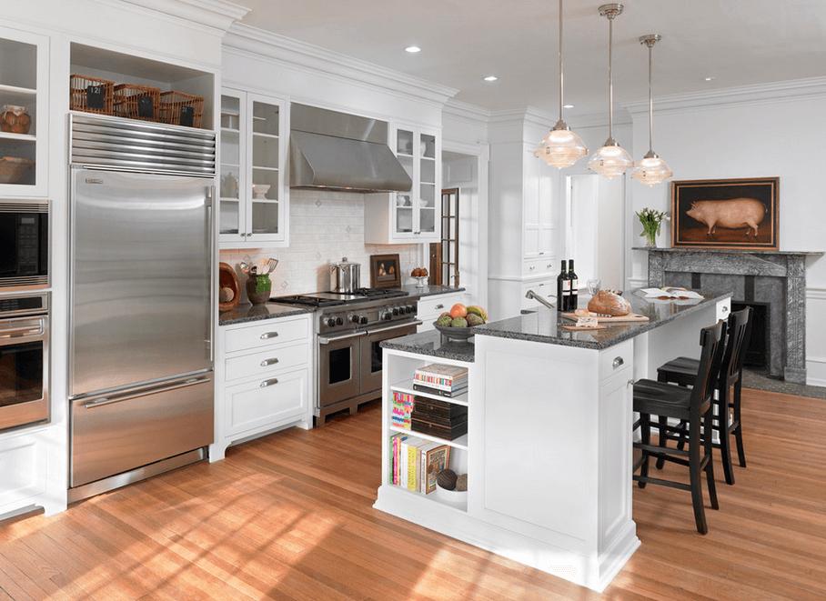 8 of Our Favourite Kitchen Island Design Ideas - Multi Level Kitchen Island