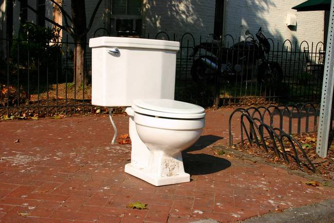 7 Ways to Go Green Around the House (Indoors and Outdoors! - Replace an Old Toilet