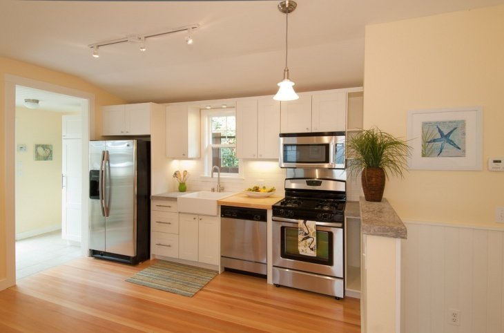 7 of the Most Popular Kitchen Layout Options for Your Home - One Wall Kitchen