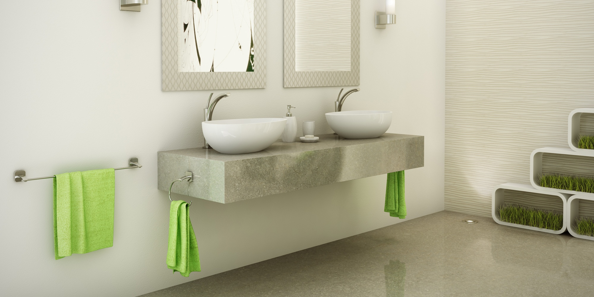 How to Choose the Best Material for Bathroom Fixtures - Riobel Faucets