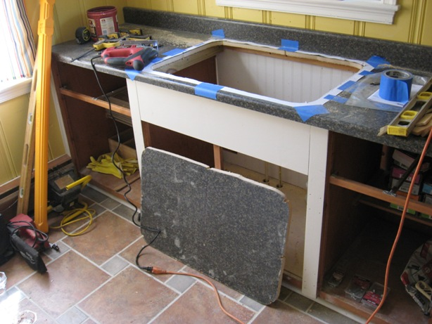 Cut A Countertop For Kitchen Sink