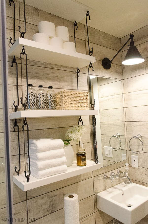 7 Ways to Maximize the Space in Your Small Bathroom Layout - Small Bathroom Storage