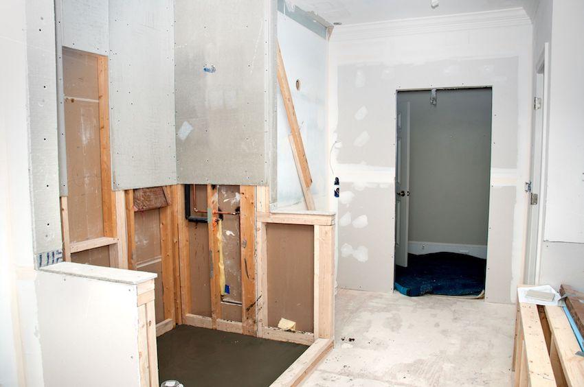 8 Important Tips to Make Tiling a Shower Easier - Stud Walls in Bathroom