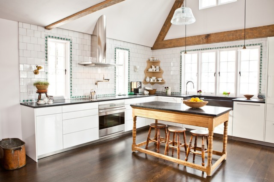 7 Simple Ways to Personalize Your Kitchen - Mix Traditional and Modern