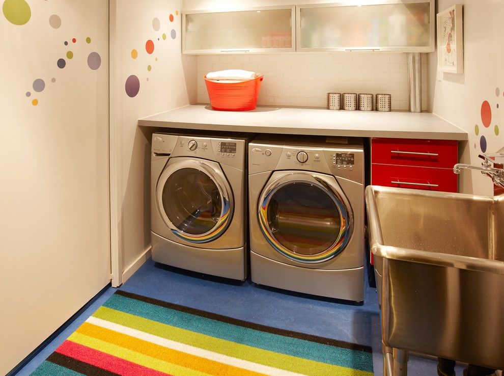 How to Choose the Perfect Laundry Room Sink - Stainless Steel Laundry Sink
