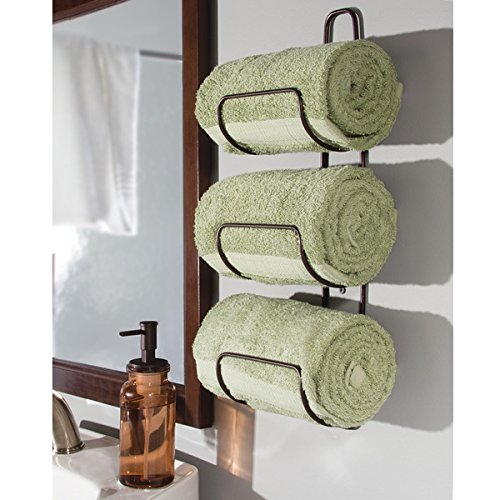 How to Use Bathroom Shelves to Organize Your Space - Bathroom Towel Storage