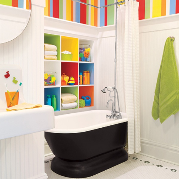 8 Important Tips For Designing a Great Kids Bathroom - Bright Kids Bathroom