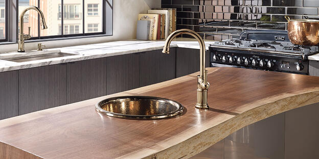 7 Simple Ways to Personalize Your Kitchen - Dress Up Your Faucet