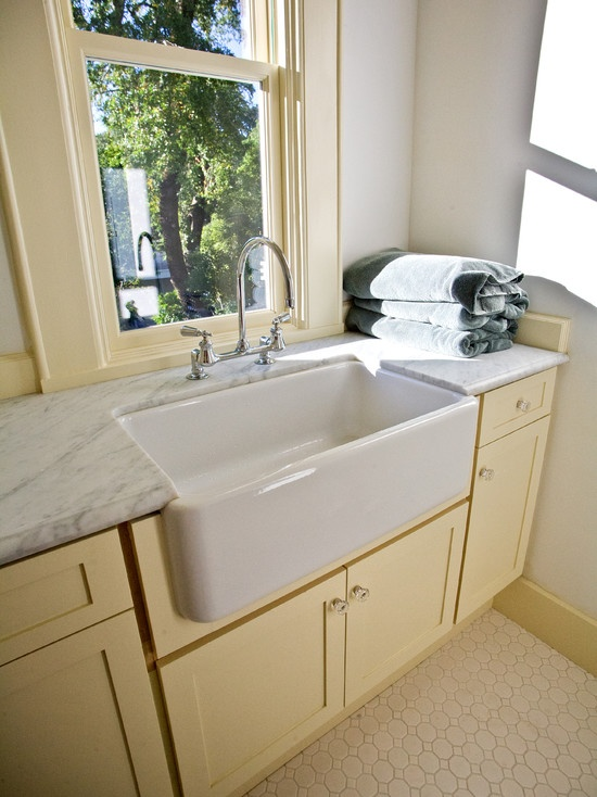 How to Choose the Perfect Laundry Room Sink - Ceramic Laundry Room Sink