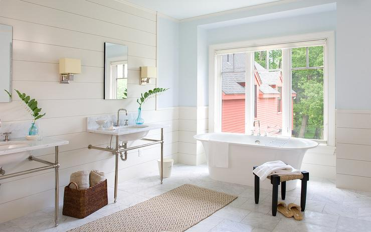 Liven Up Your Home With These Bathroom Colours - Coastal Beach Bathroom