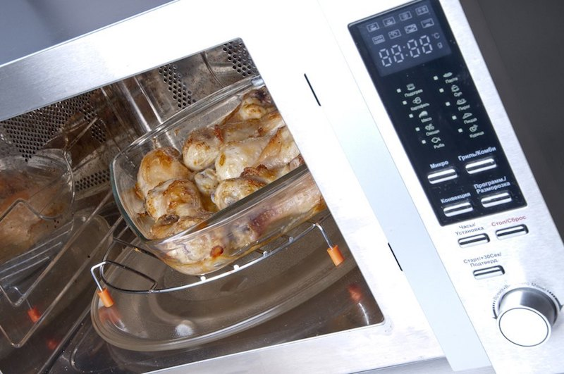 How to Create the Perfect Family-Friendly Kitchen in 7 Steps - Add a Convection Microwave