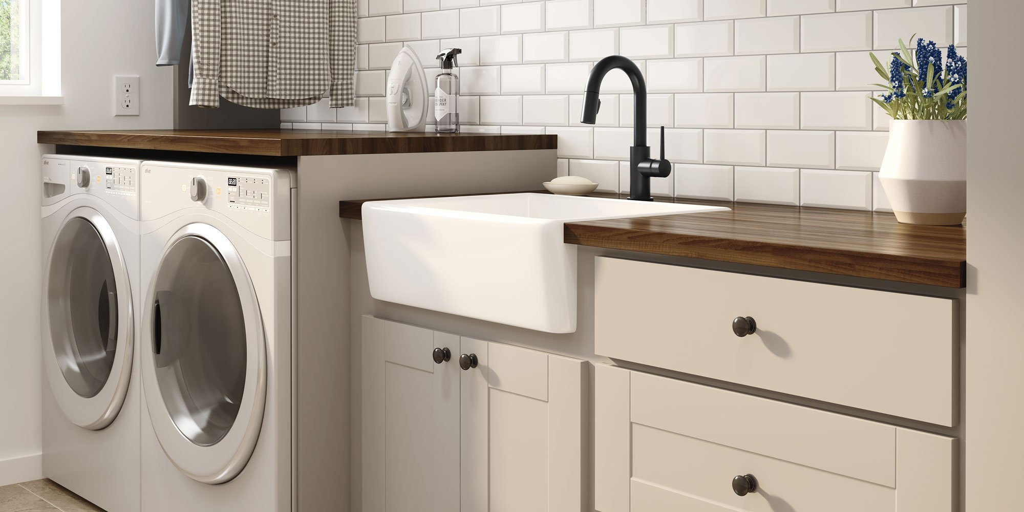 How to Choose the Perfect Laundry Room Sink - Delta Utility Faucet