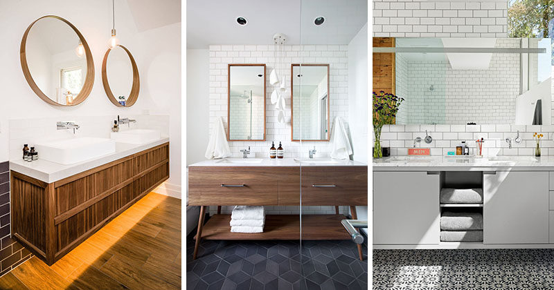 Find Out If Your Home Needs a Double Sink Vanity - Trendy Double Vanities