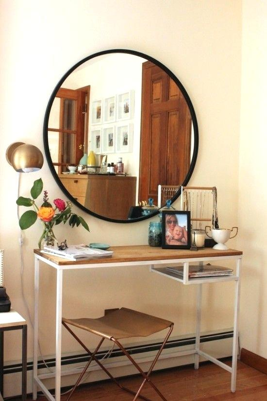4 Ideas for a Unique Seated Vanity for Your Bathroom - Hall or Entry Table Vanity