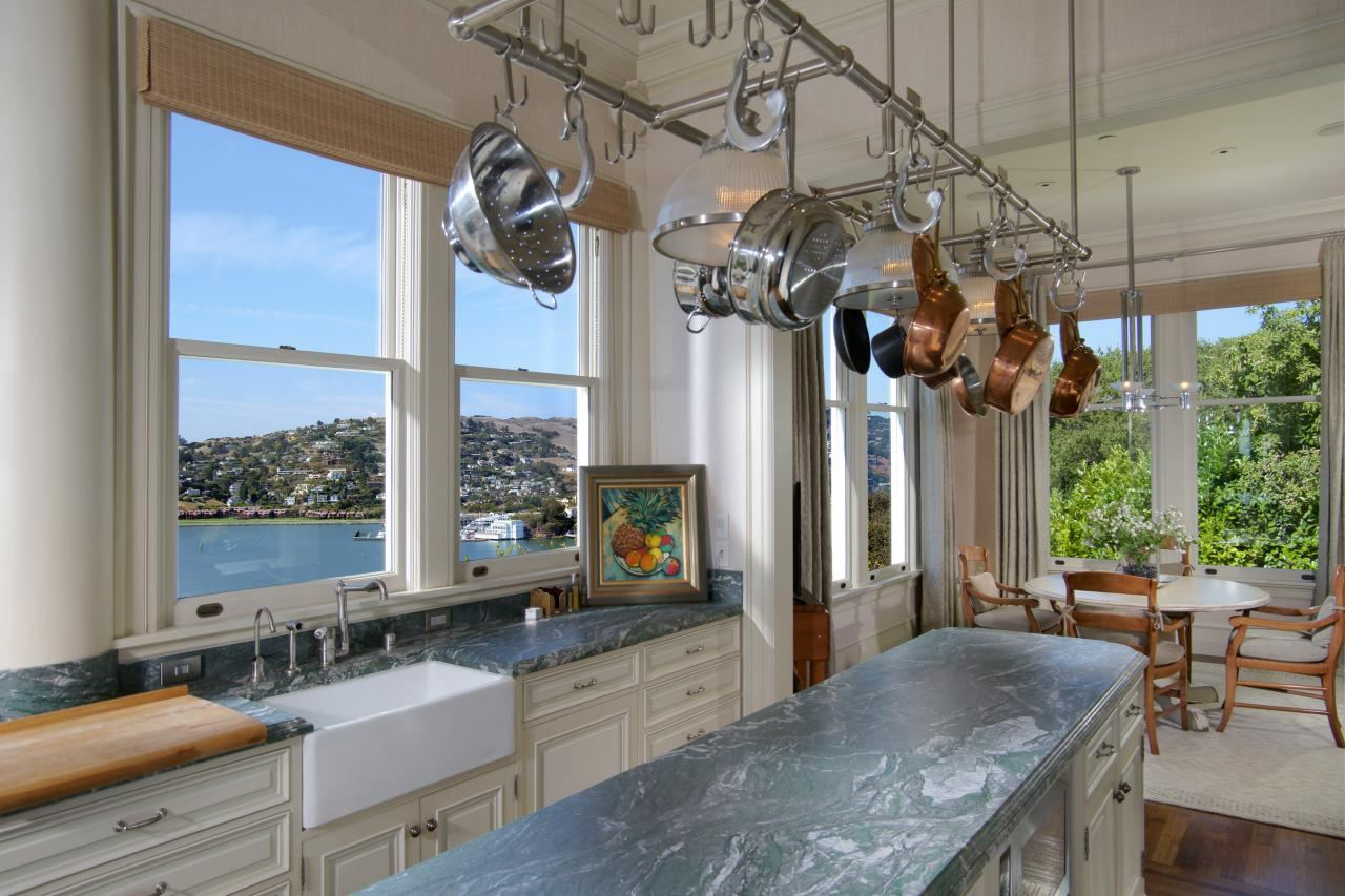6 Tips for Creating a Chef's Kitchen at Home - Hang Up Pots and Pans