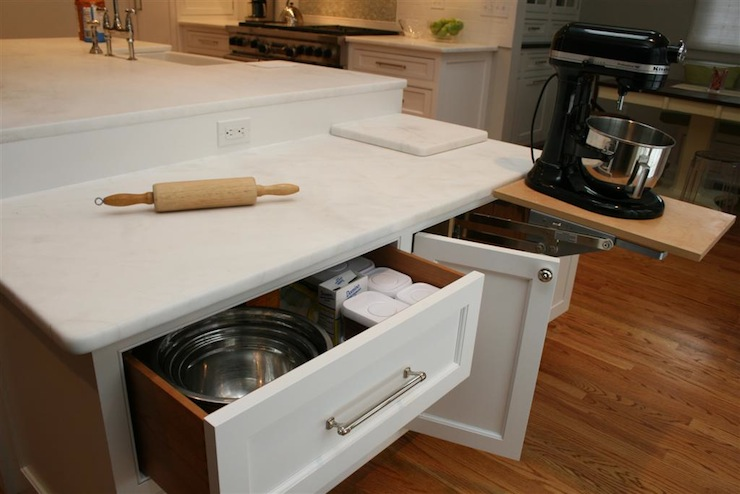 6 Ways to Create a Baker's Kitchen at Home - Add a Kitchen Island