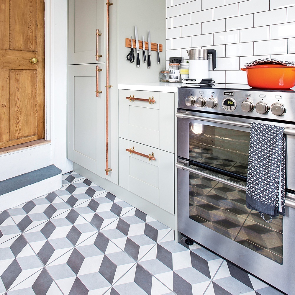 Kitchen Flooring: How to Choose the Best Option (Types and Tips) - Unique Kitchen Flooring Tiles