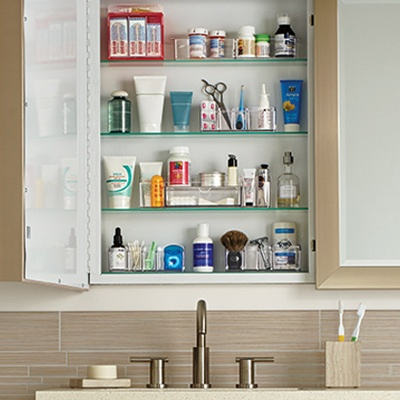 6 Easy Ways to Clear Out Bathroom Clutter This Weekend - Clean Out Your Medicine Cabinet