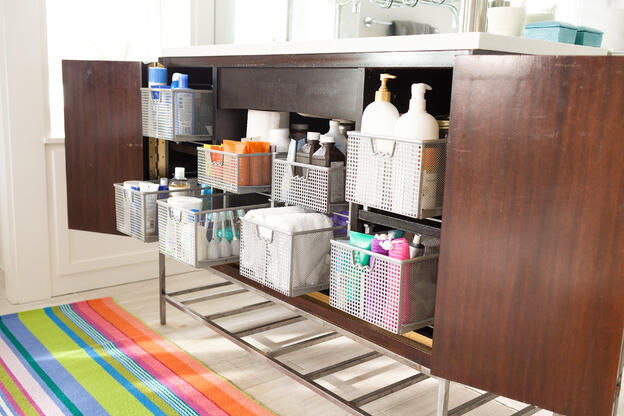 How to Keep Your Bathroom Sink Clean and Hygienic - Organize Your Cabinets and Bathroom Counter