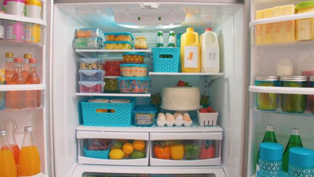 How to Create the Perfect Family-Friendly Kitchen in 7 Steps - Organize the Fridge