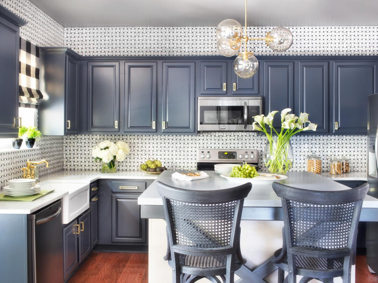 6 Helpful Tips for Upgrading Your Kitchen on a Budget - New Paint Job on Cabinets