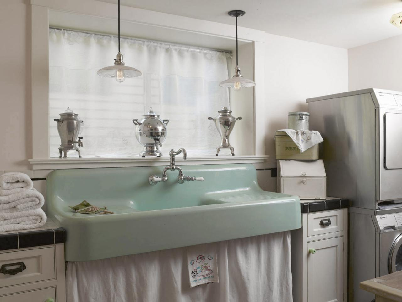 How to Choose the Perfect Laundry Room Sink - Porcelain Laundry Sink