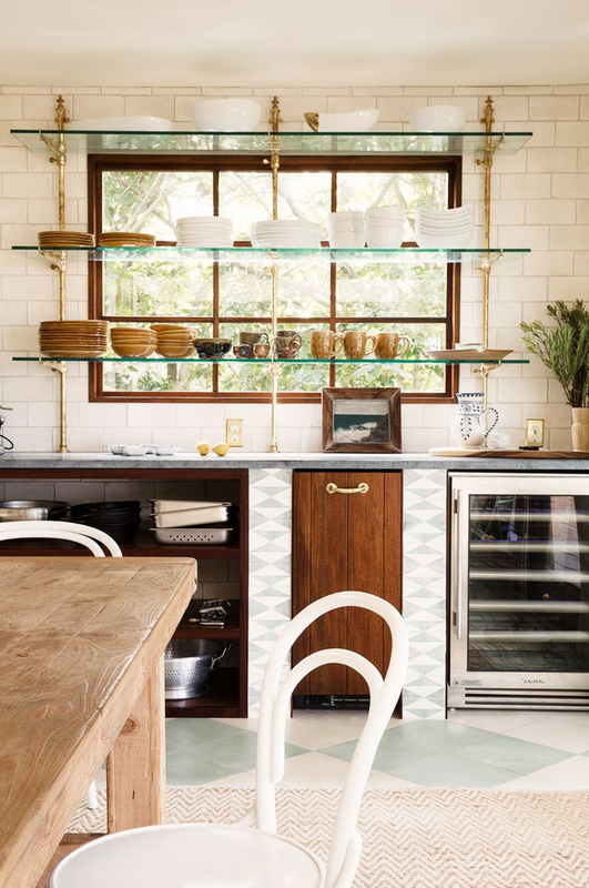 8 Simple Kitchen Upgrades to Try This Weekend - Create Window Shelves