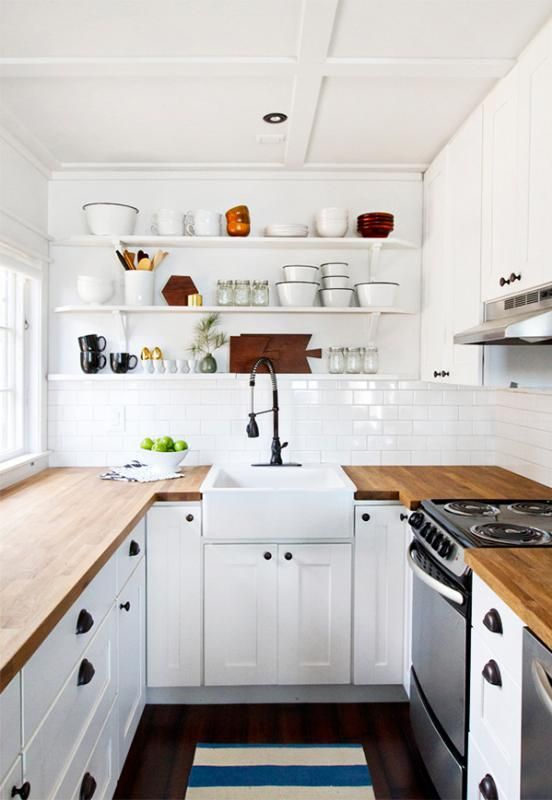 5 Tips for Making the Most of Your Small Kitchen Design - Create Illusions with Colour