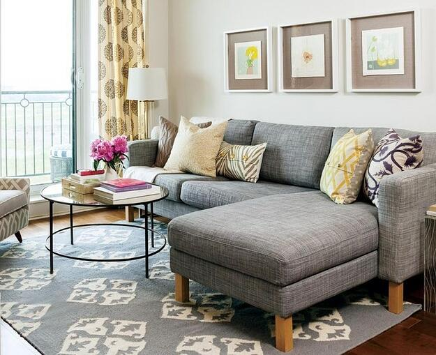 How to Make a Small Space in Your Home Feel Bigger - Small Living Room