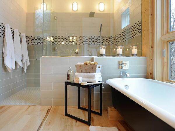 4 Ways to Create a Luxury Bathroom on a Tight Budget - Spa Bathroom