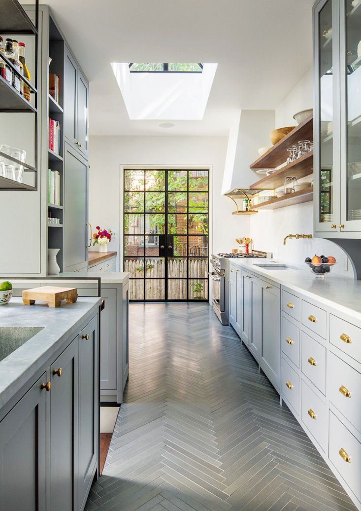Kitchen Tiles - How to Use Them in Your Home - Herringbone Tiled Kitchen Floors
