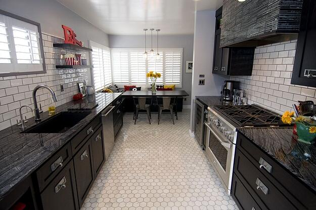 Kitchen Tiles - How to Use Them in Your Home - Hexagonal Tiled Floors in Kitchen
