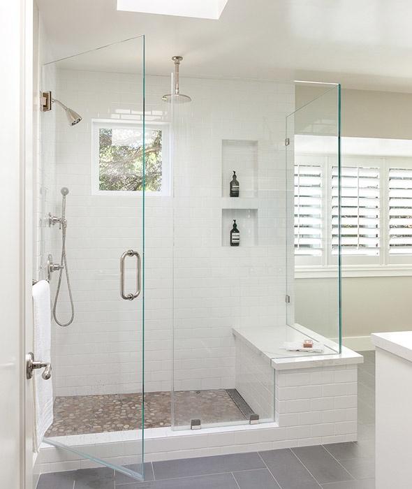 How to Easily Clean Tiled Shower Stalls - Luxury Tiled Shower Stall