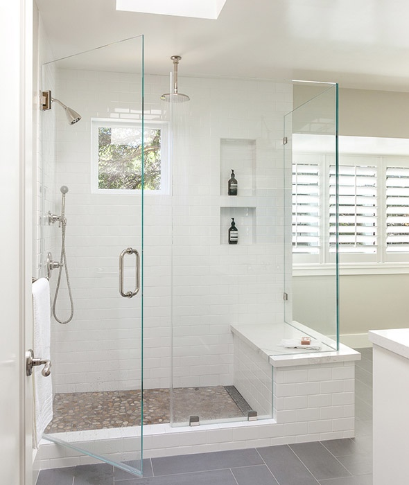 How to Easily Clean Tiled Shower Stalls - Luxury Tiled Shower Stall
