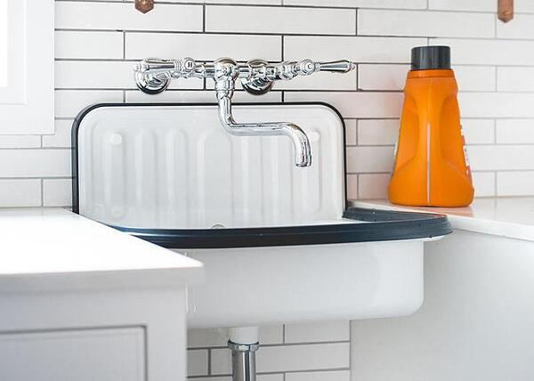 How to Choose the Perfect Laundry Room Sink - Wall Mounted Laundry Sink
