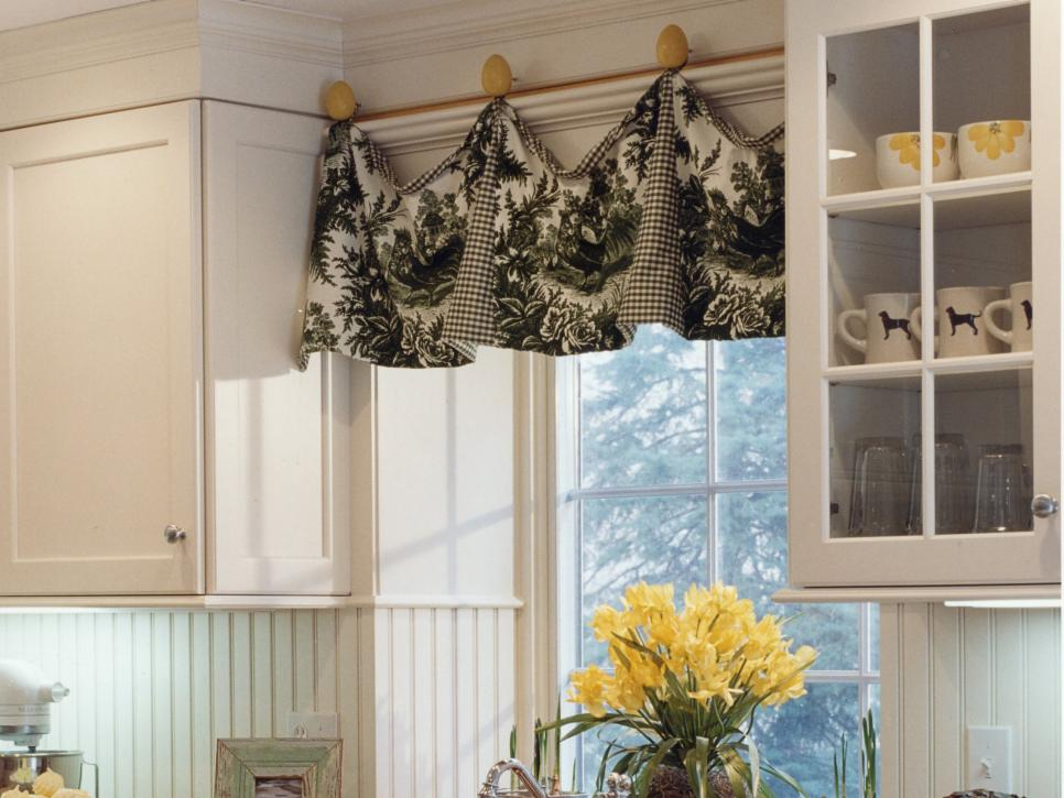 8 Simple Kitchen Upgrades to Try This Weekend - Hang a Cute Window Topper