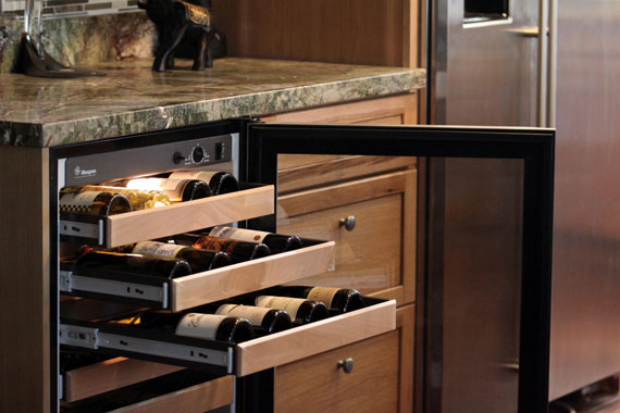 Does Your Kitchen Really Need a Wine Fridge? - Wine Fridge in Kitchen