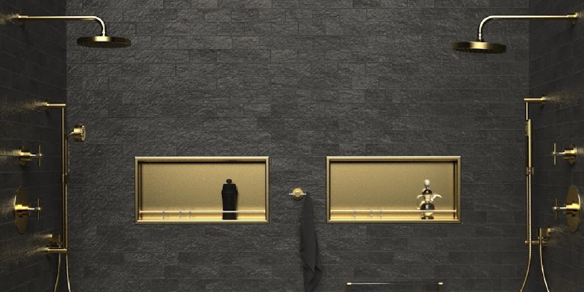 Bathroom Design Trends 2020 - Exposed Plumbing