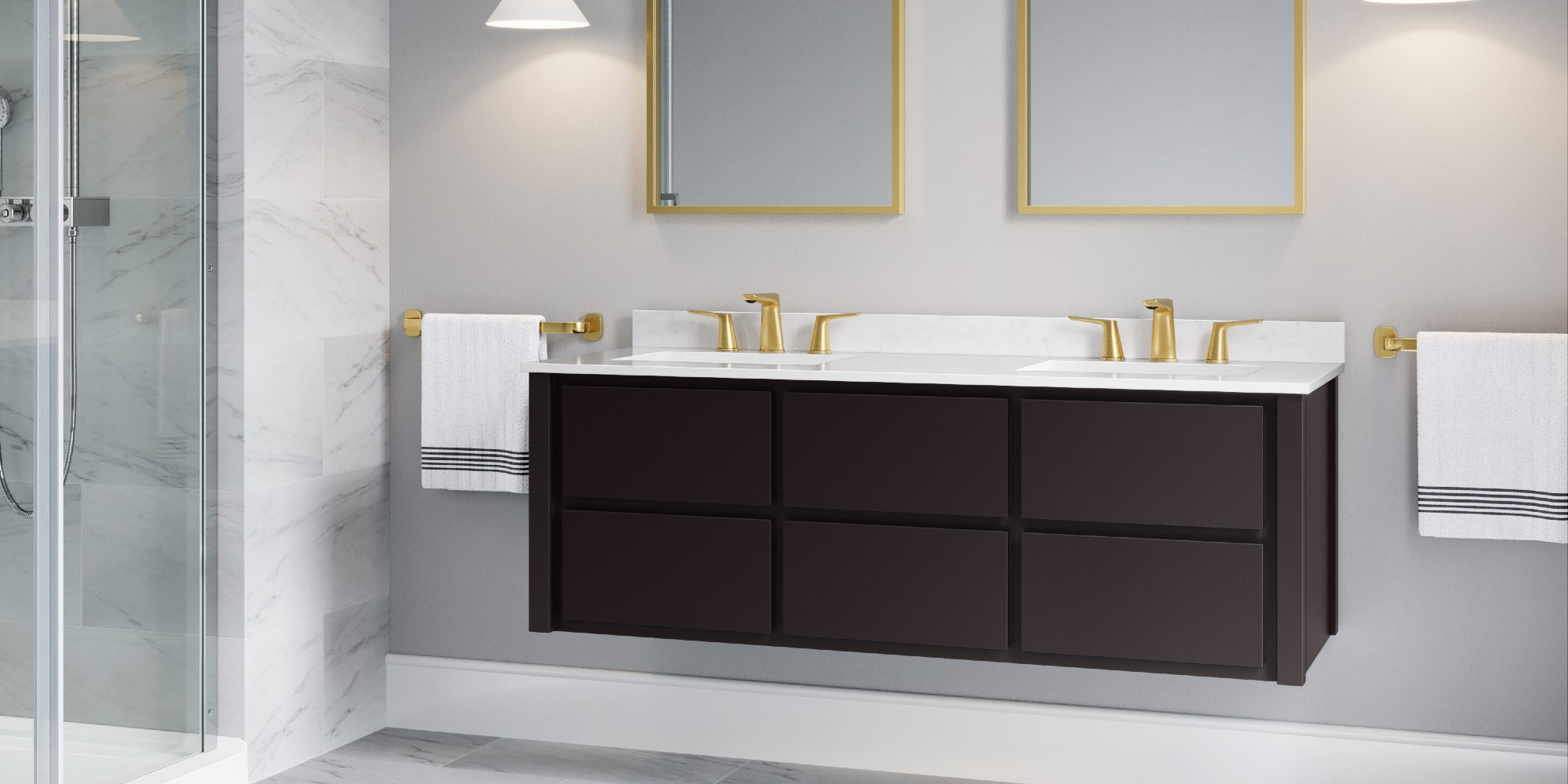 Frederick York Bathroom Vanity Design