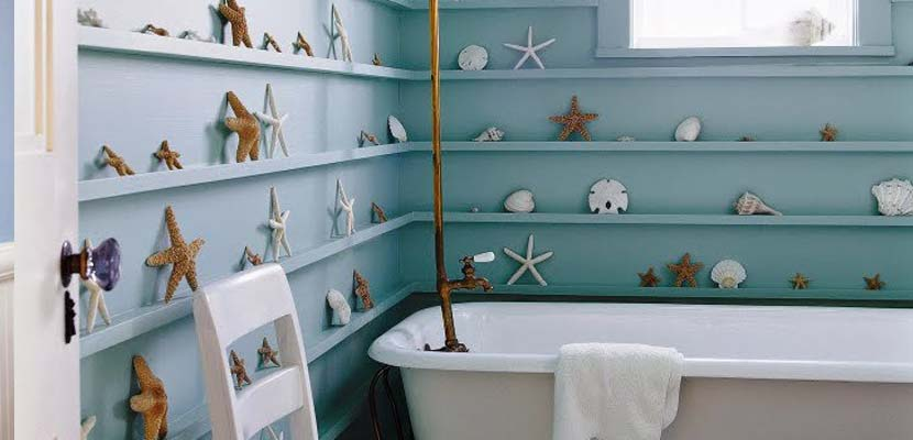 bathroom shelving header