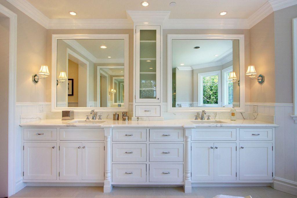 double sink vanity header